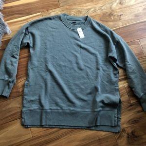 aerie Desert Sweatshirt Oversized Small Green